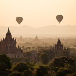 Balloons over Bagan by Arun Bhat