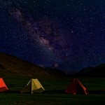 Sleeping Under The MilkyWay by Chandra Mulpuri