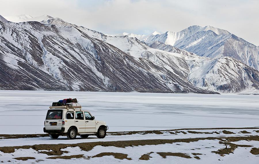 Ladakh in winters